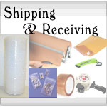Shipping & Receiving Supplies