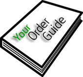 Customized Order Guides